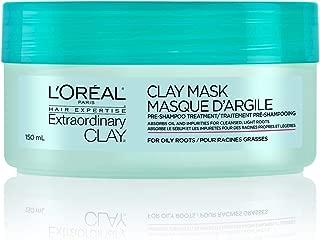 L'Oreal Paris Hair Expertise Extraordinary Clay Clay Mask, Pre-Shampoo Treatment, 150 mL