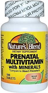 Prenatal Formula Multivitamin 100 Tabs