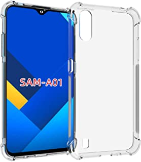 Samsung Galaxy A01 Case Cover Bumper Shell Soft TPU Silicone Clear Transparent Cover Shockproof for Samsung Galaxy A01 by ...