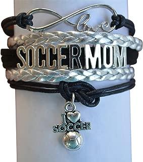 Soccer Mom Bracelet, Soccer Moms Jewelry, Soccer Mom Gifts, Perfect Soccer Mom Gifts for Women