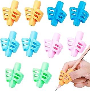 دستگیره های مدادی ODELL - دستگیره مداد برای کودکان ، دستگیره های مداد برای کودکان نوپا ، گرفتن قلم برای پیش دبستانی ، لوازم مدرسه ، ابزار کمک به نوشتن تصحیح وضعیت مداد گرفتن (10 بسته)