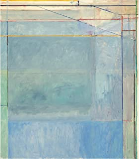 Berkin Arts Richard Diebenkorn Giclee Canvas Print Paintings Poster Reproduction (Untitled)