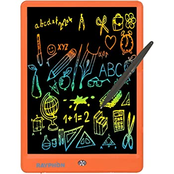 HANXIAODONG Electronic Doodle Pads Drawing Board Colorful LCD Electronic Writing Tablet Handwriting Paper Drawing Tablet at Home Office Outdoor Color : Blue, Size : 10 inches