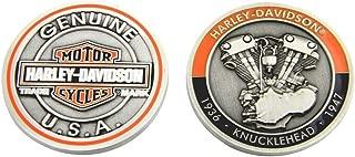 Harley-Davidson Knucklehead Bar & Shield Challenge Coin, 1.75 in Coin 8007089