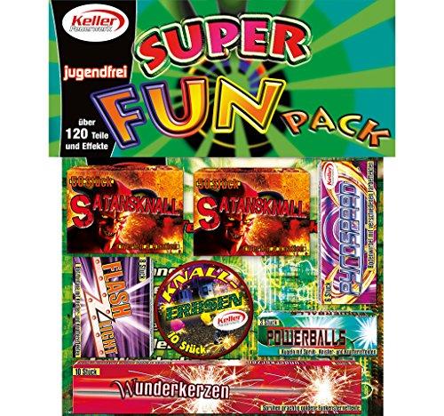 2 Stück Super Fun Pack jugendfreies Feuerwerk