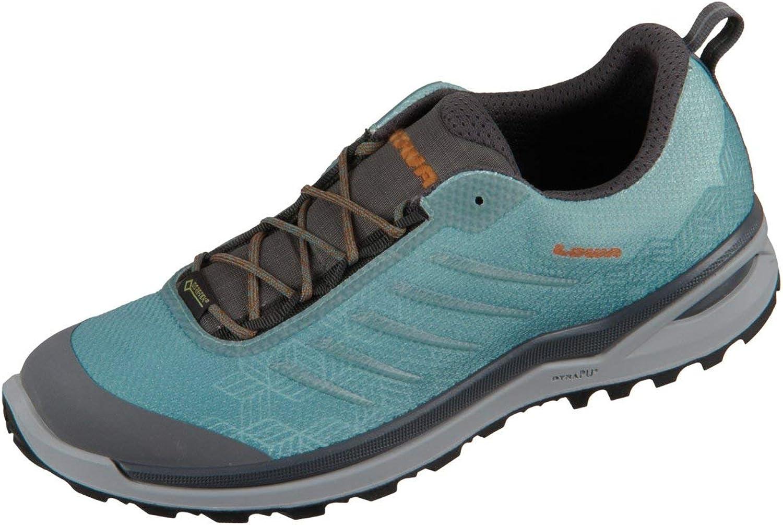 Lowa Damen Sportschuhe Lynnox GTX Lo 320412-6327 blaugrau pfirsich 320412-6327 grau 675718