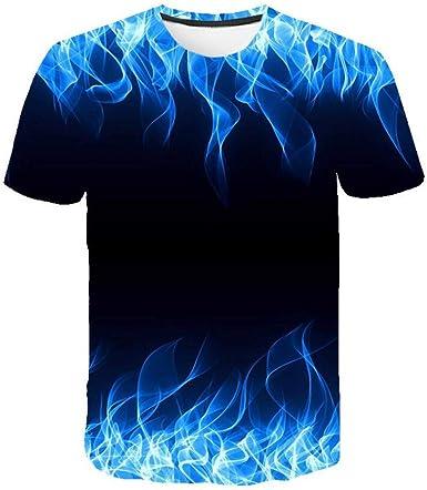 Sayla Camiseta para Hombre Manga Corta Verano Polo Camisas Casual ImpresióN 3D Camiseta Negra Anime Camiseta Streetwear Camiseta De Manga Corta