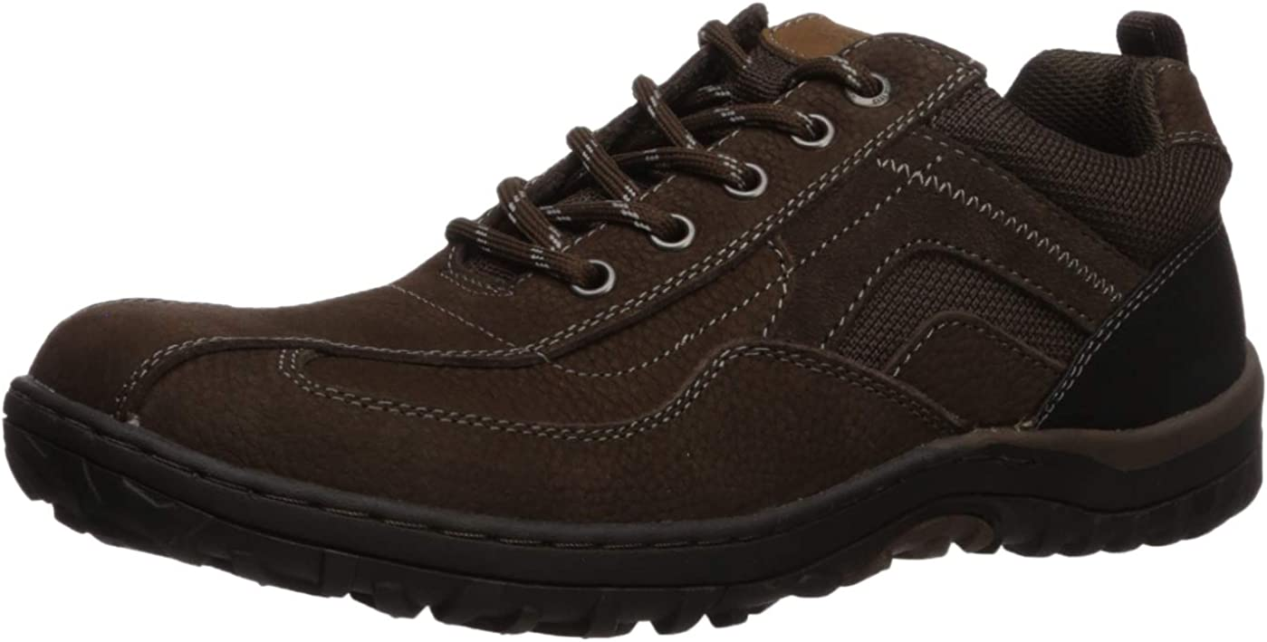 In stock Nunn Bush New sales Men's Quest Bicycle Oxford Rugged Toe Casual