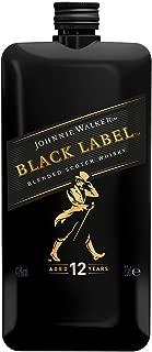 Whisky Johnnie Walker Black Label Pocket Scotch - 200ml