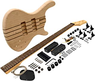 $219 » Seismic Audio - SADIYG-21 - Premium Modern Style 5 String Bass Electric DIY Guitar Kit