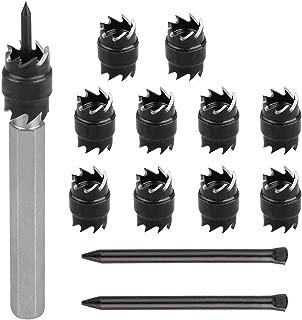 """2 HSS 3//8/""""5//16/"""" Double Side Rotary Spot Weld Cutter Remover Sheetmetal Drill Bit"""