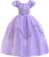 Lito Angels Fille Princesse Sofia Robe Costume D/éguisement Anniversaire F/ête Halloween No/ël Partie Carnaval Cosplay 2 Ans B