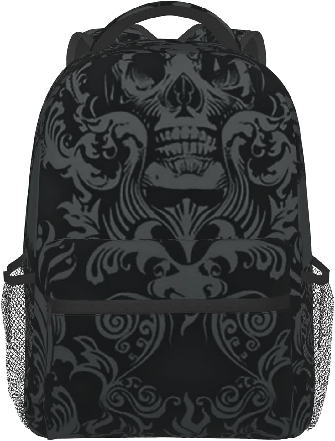 The skull pattern 2 Full Very popular Schoolbag Print 100% polyester Athle supreme