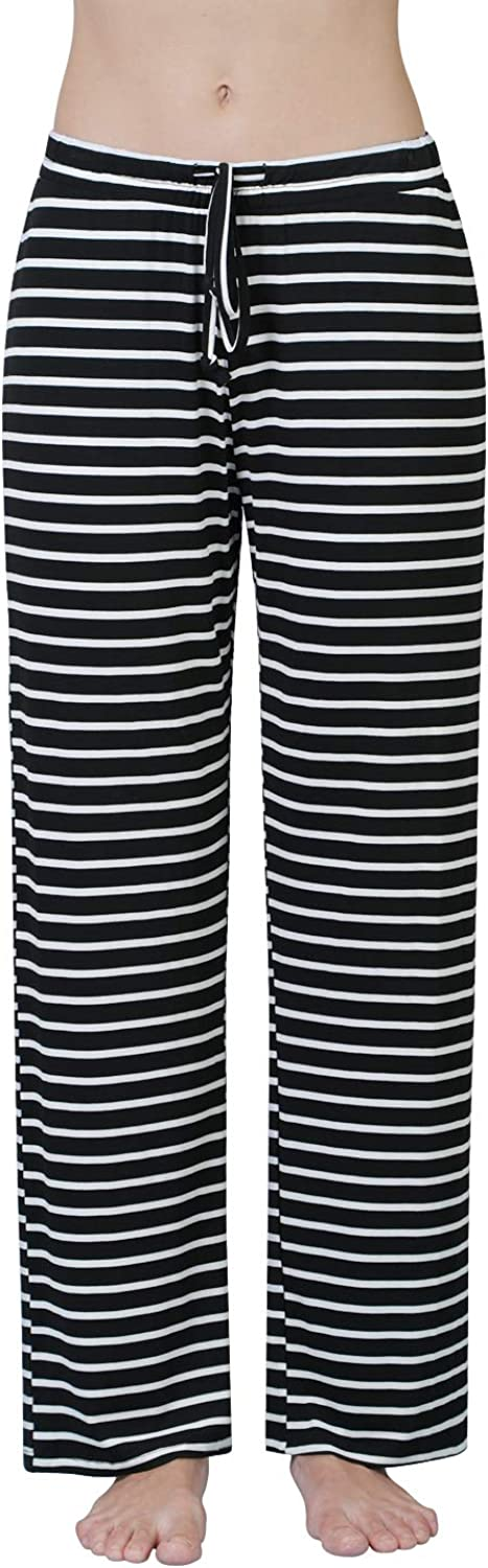 Air Curvey Womens Pajama Pants Wide Leg Lounge Pants