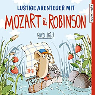 Lustige Abenteuer mit Mozart & Robinson Titelbild