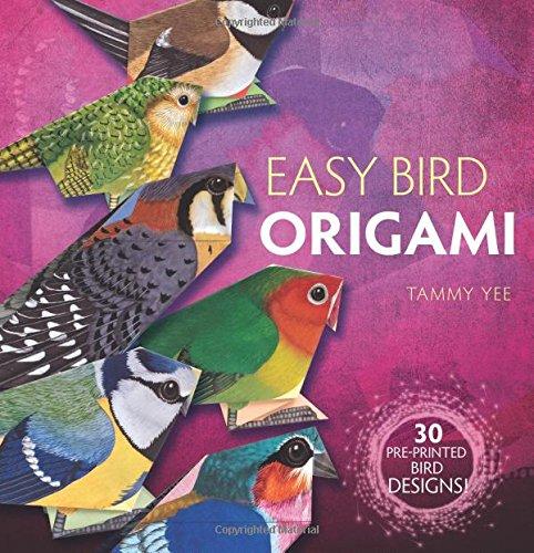 Easy Bird Origami: 30 Pre-Printed Bird Models (Dover Origami Papercraft)