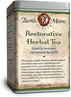 Restorative Herbal Tea Blend: Loose-Leaf, Organic & Wildcrafted, Healing and Medicinal, 4 oz. Tin.