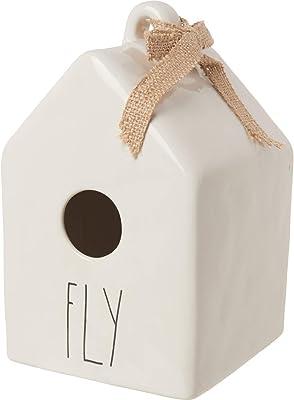Magenta Rae Dunn Fly Elongated Square Birdhouse