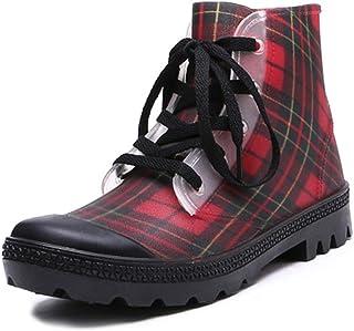 ZOSYNS Chelsea Boots dameslaarzen, modieus, waterdicht, rubberen laarzen, antislip, regenlaarzen, dames, outdoorschoenen, ...