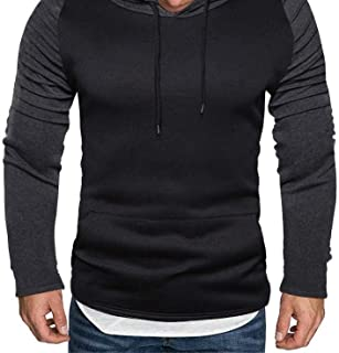 MODOQO Men's Pullover Hoodies Warm Soft Outdoor Sports Gyms Running Sweatshirt