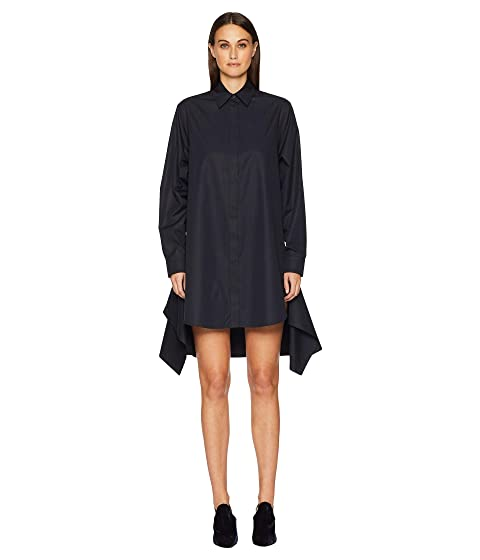 Sportmax Marmo Button Long Sleeve Shirtdress