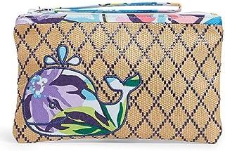 Vera Bradley Seashore Beach Straw Wristlet Marian Floral