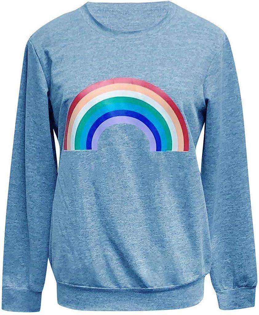 Women's Long Sleeve Sweatshirts Teen Casual R Genuine Free Shipping Girls half Striped