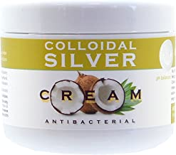 Natures Greatest Secret - Amber Formula - Antibacterial, Antifungal 80% Colloidal Silver and Coconut Oil Intensive Formula -Soothing Skin Treatment - 100ml