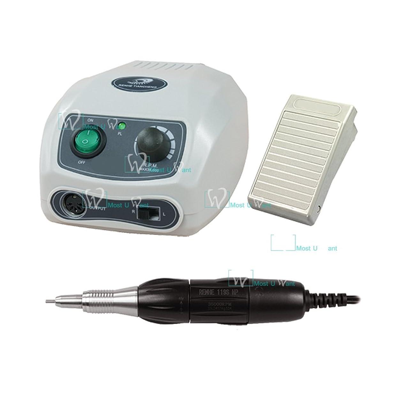 親愛なエイズ協力するネイル道具ネイルポリッシュドリル電動ハンドピース35krpmカーボンブラシマイクロモータージュエリー研磨工具義歯ファイル研磨
