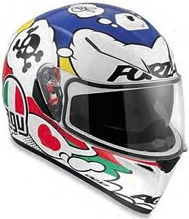 AGV 0101-7513 K-3 SV Motorcycle Helmet (Comic, Large)