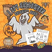 Halloween Ispy books for kids 2-4: Ispy Spooky Night   A Fun Activity Spooky Scary Things & Other Cute Stuff Coloring and ...