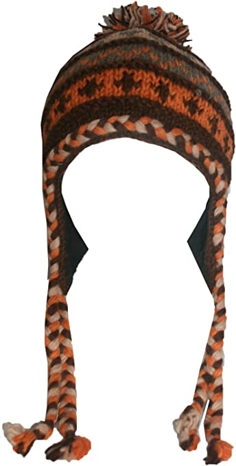 1401 MT Himalayan Knit Wool Fleece Lined Hat OR Mitten OR Folding Mitten