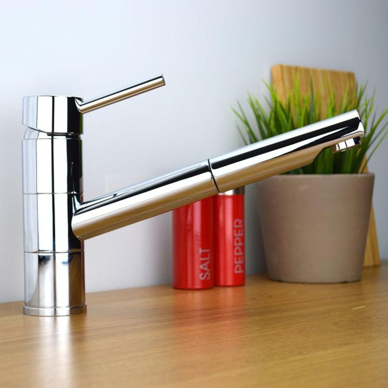 YFF@ILU Home deco Accessoires heie und kalte Kupfer Teleskop Waschbecken Armatur Spüle Wasserhahn Küche Wasserhahn