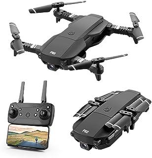 Drone FPV Plegable con Cámara 4K para Adultos, 5G WiFi FPV Drone Video en Vivo para Principiantes, GPS Regresar a Inicio | Cambio de Doble Disparo | Control del Teléfono | Foto Gesto | Visión VR