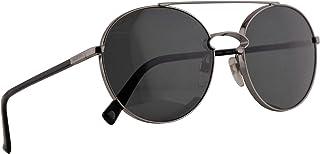 Valentino VA 2002 Sunglasses Gunmetal w/Smoke Lens 55mm 300587 VA2002S VA2002/S VA2002