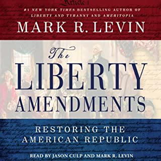 The Liberty Amendments audiobook cover art