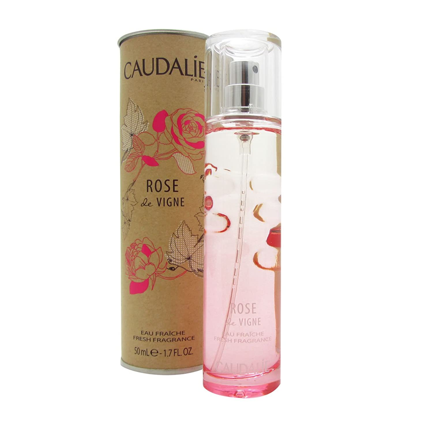 容器鍔アレイCaudalie Rose De Vigne Fresh Fragrance 50ml [並行輸入品]