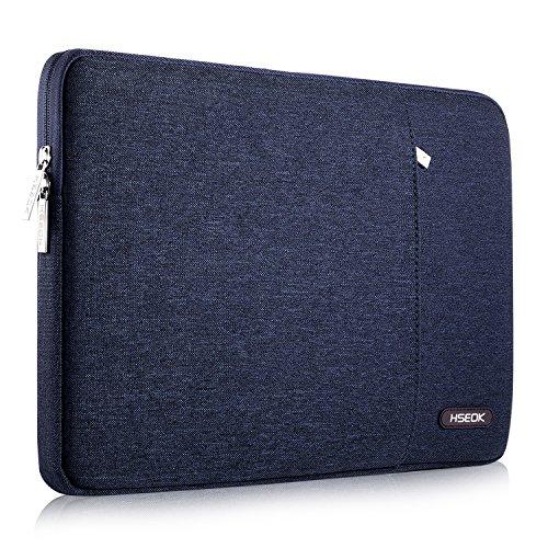 HSEOK Laptop Hülle 13-13,3 Zoll, kompatibel mit MacBook Air A1278/A1466/A1369 (2012-2017), Stoßfeste Wasserdicht Laptop-Tasche PC Hülle für die meisten 14 Zoll Laptops NoteBooks, Blau