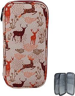 Katech Sac Rangement Aiguilles à Tricoter 25cm, Portable Trousse Sac Rangement Tricot pour Aiguille à Crochet Tricotin Ci...