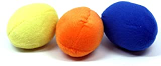 Outward Hound Squeakin' Eggs Puzzle Plush Replacements - 3 Pack