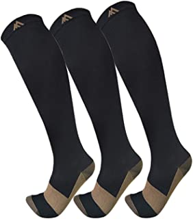 Copper Compression Socks for Men & Women(3...
