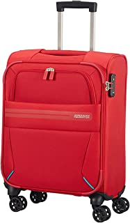 Summer Voyager Spinner Hand Luggage, 55 cm, 36 Liters, Ribbon Red