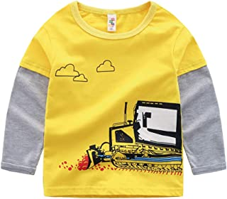 1d774d53b51c Rolayllove Top Children Kid Baby Girl Boy Long Sleeve Cartoon Tops Shirts  Tee Casual Clothes