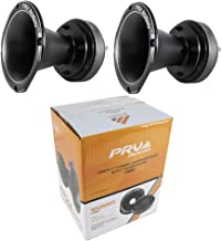"$209 » 2X Pro 2"" Compression Horn Driver 8 Ohm Titanium 400W PRV Car Audio WG2500Ti"