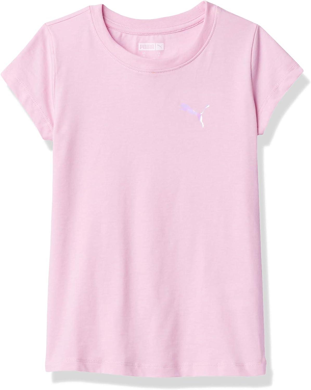 PUMA Girls' Core Logo T-Shirt