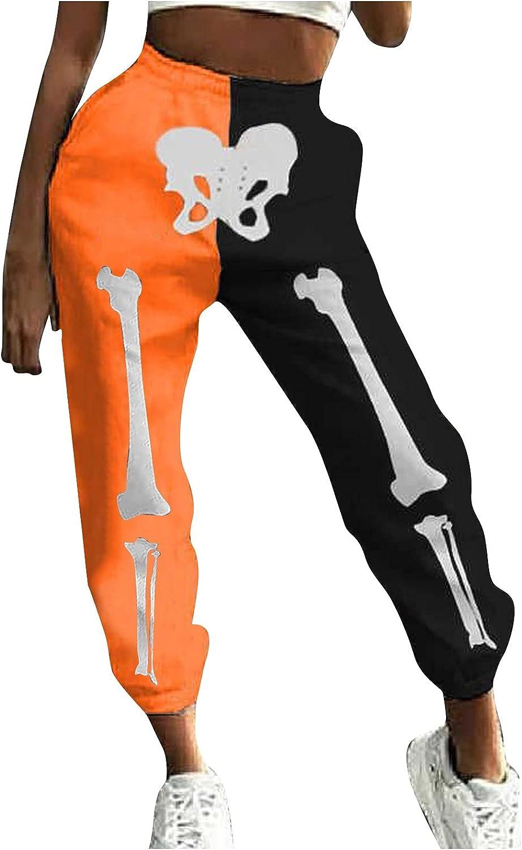 ZCAITIANYA Complete Free Shipping Women's Year-end gift Halloween Printed Sli Pants Sweatpants Casual