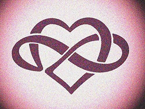 Celtic Knot Heart Stencil Mylar Knots Hearts Stencils