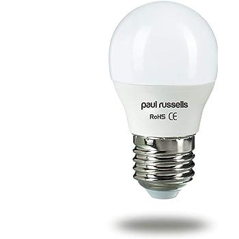 Paul Russells 3 Pack 7W=60W Bombillas LED de Golf E27 ES Edison ...