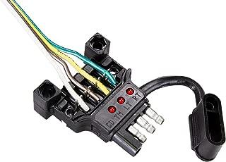 Hopkins 48192 Endurance Quick Fix Trailer Side 4-Flat Connector