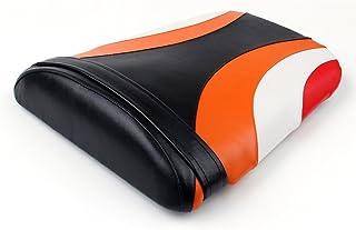 Artudatech asiento trasero de pasajero para motocicleta, asiento trasero de pasajero de piel, cojín de asiento de pilón para HON-DA CBR1000RR CBR 1000 RR 2004-2007